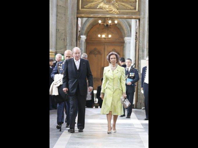 Rey Juan Carlos y Sofía de España