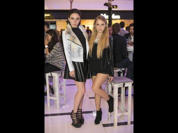 Mercedes Junquera y Joseline Terrones