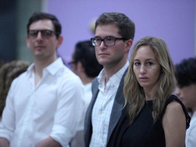 Iván Martínez Salomón, Pablo Pedrejón y Elena Cadavieco