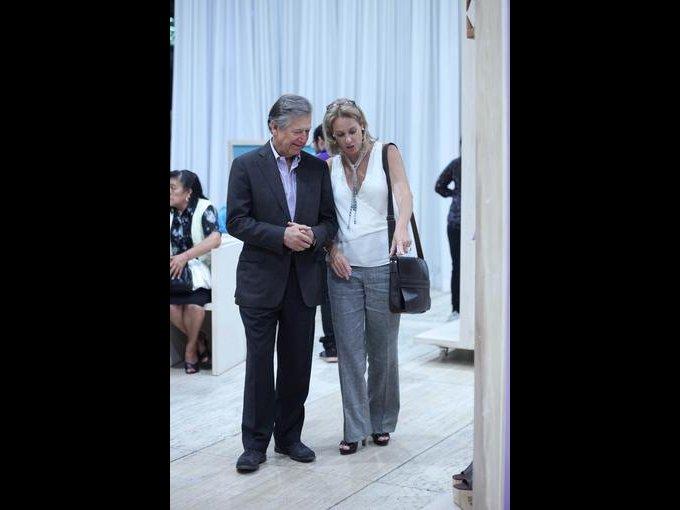 Héctor Rangel Domene y Jennie Gutiérrez