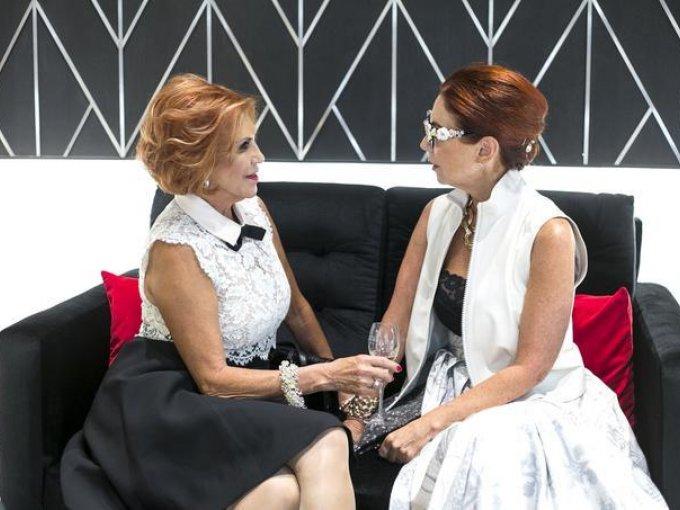 Hilda Muñoz y Lissete Trepaud