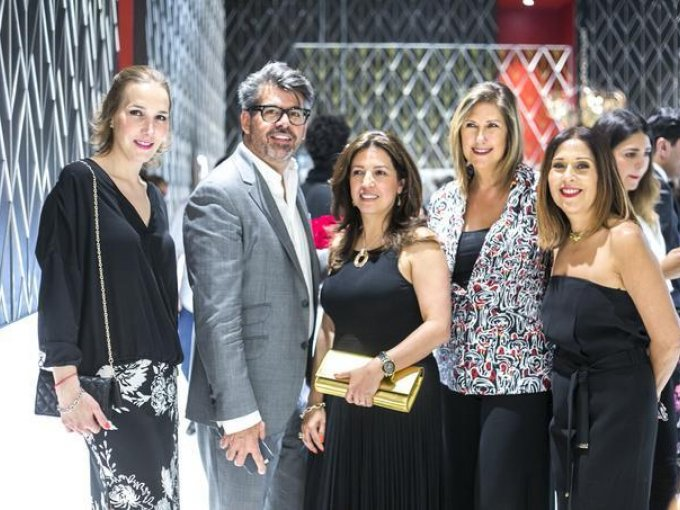 Fátima de Velasco, Carlos Salcido, Claudia Fabela, Ana Laura Llerena y Yanina Barajas