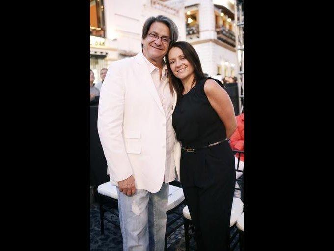 Héctor Rodríguez y Eliette Corona