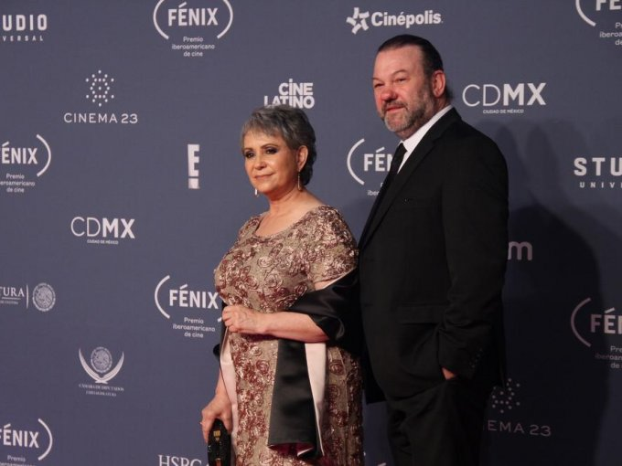 Adriana Barraza y Arnaldo Pipke