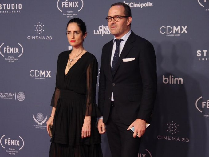 Carolina Herrera de Báez y Jaime Gorozpe