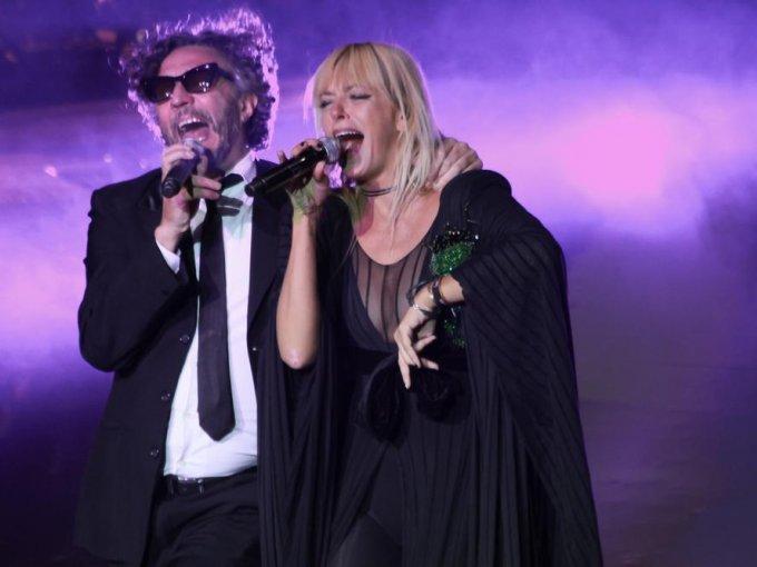 Fito Páez con Anita Álvarez de Toledo