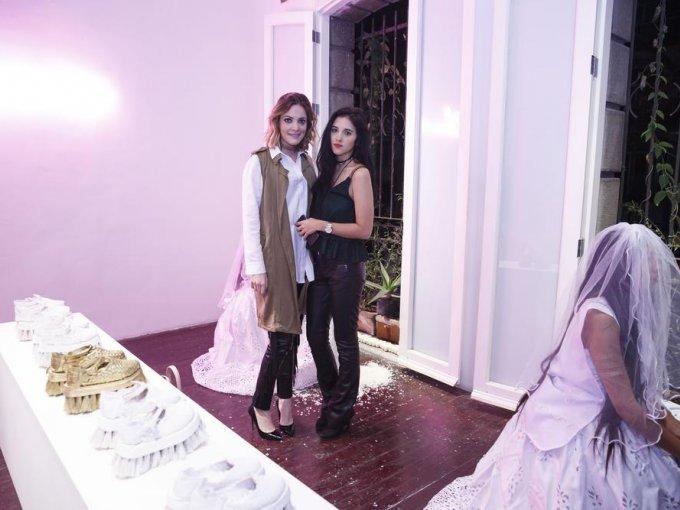 Mariana Ocejo y Laura Soto