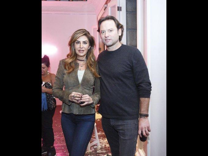 Alejandra Funtanet y Adrián Burns