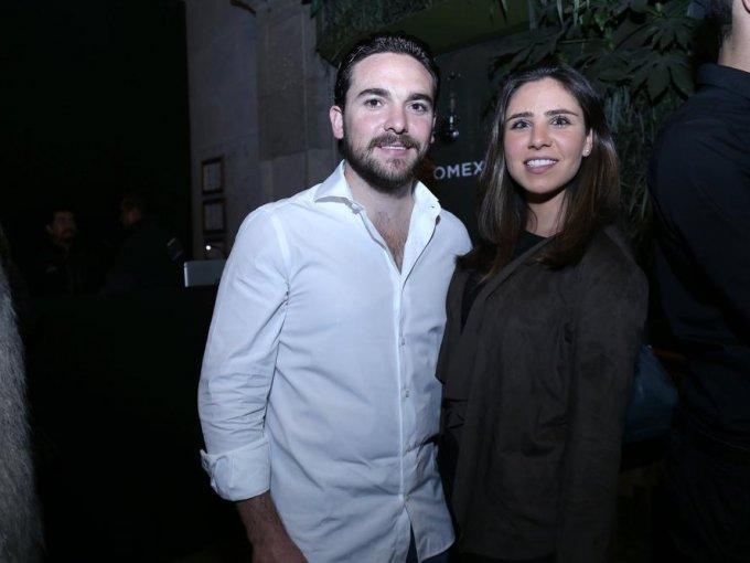 Iker Landaburu y Gabriela de la Torre