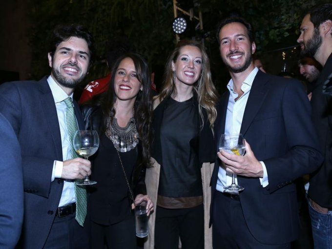 Carlos Pla, Pamela Fournier, Paula Palomino y Jaime Nehama