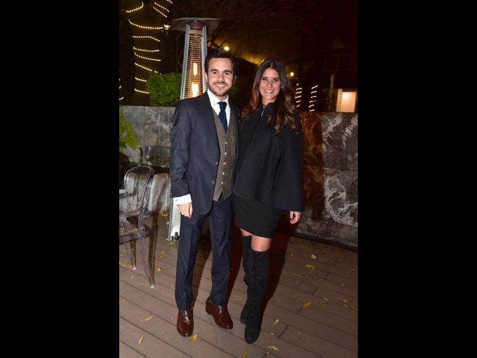Diego Márquez y Viviane Sámano