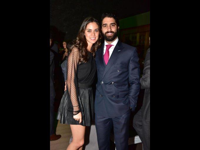 Paulina Aguirre y Fernando Marón
