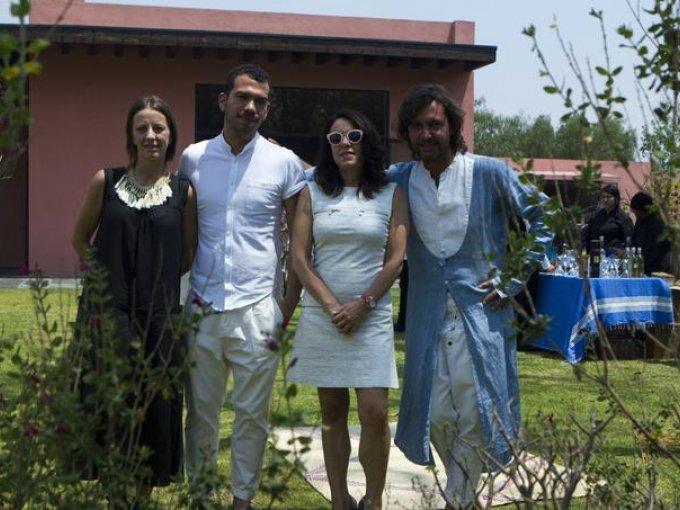 Concha Orvañanos, Francisco Cancino, Isabel Rossetto y César Cervantes