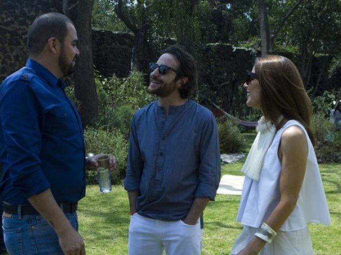 Gustavo García, Andrei Nicolayevsky y Maggie Galton