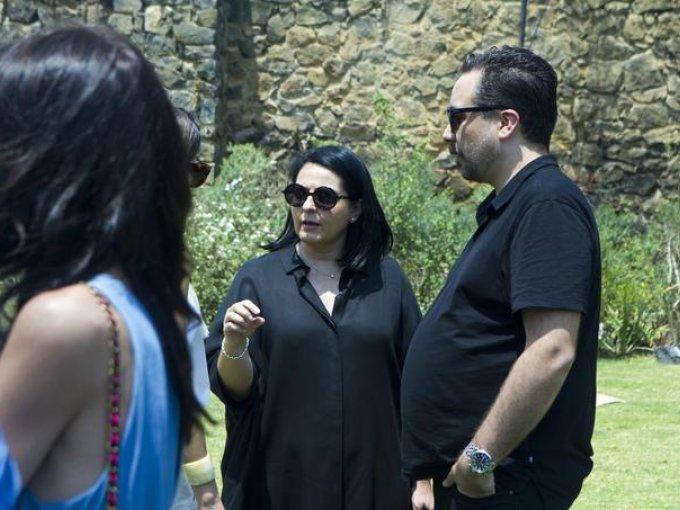 Colette Decoux y Juan Carlos Campos