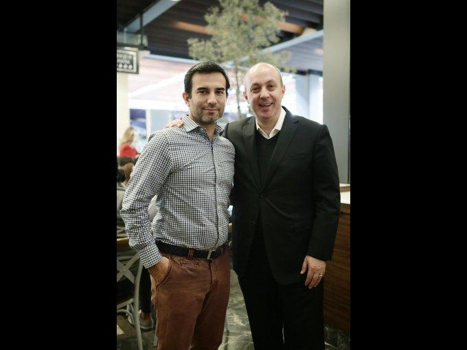 Joel Vergés y Carlos Herrero
