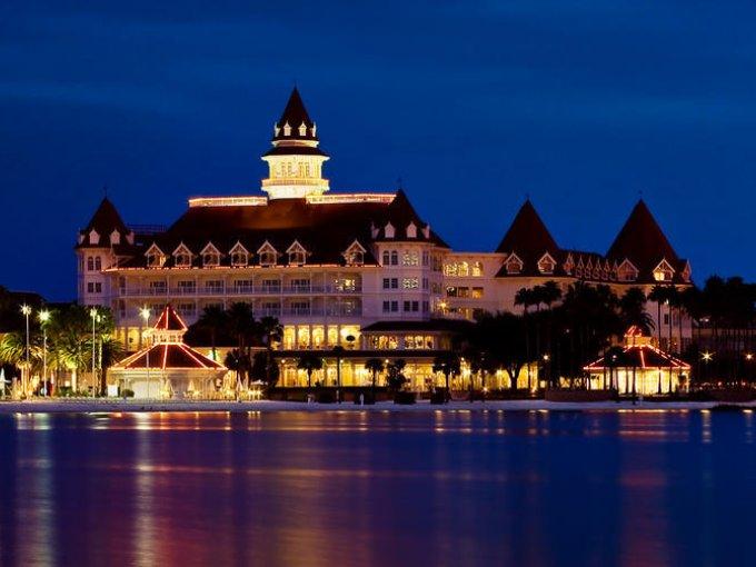 Grand Floridian Resort & Spa, donde la relajación cumple un papel fundamental y las vistas del lugar son maravillosas