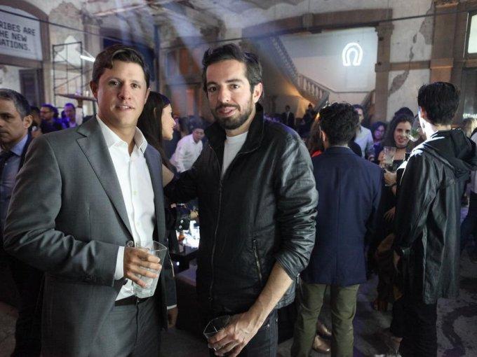 Andrei Lepiavka y Rubén Hernández