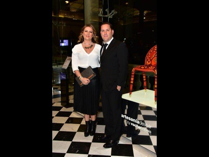 Luisa Rangel de Alba y Patrick Hagemeister