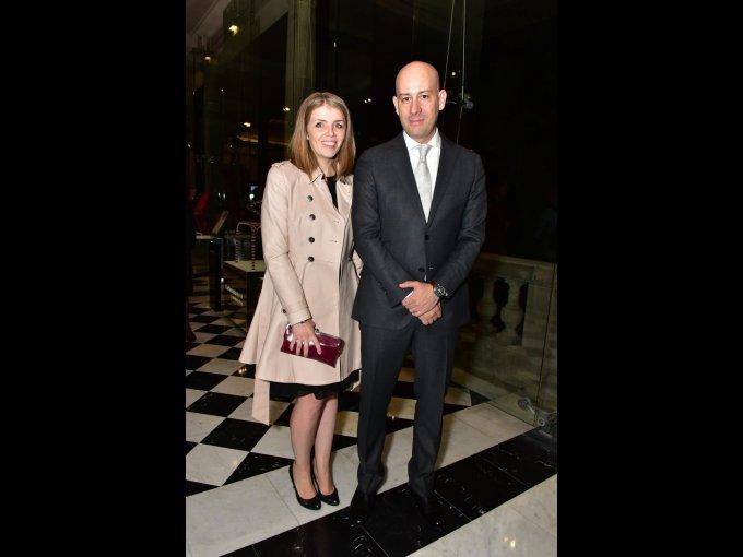 Jennifer Barre y Eric Villaseñor