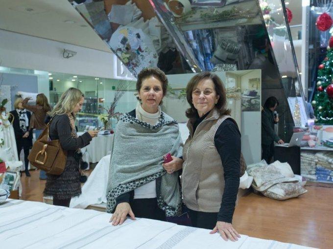 Lourdes Manzano y Marivi de La Fuente
