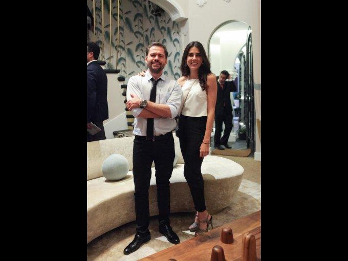 Miguel Ángel Cerdio y Carla Rivera