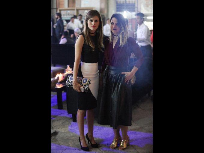 Mariana Esquinca y Paola Giordano