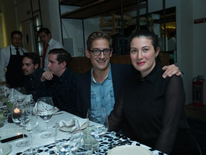 Guy Berges y Ana Karen Bathen