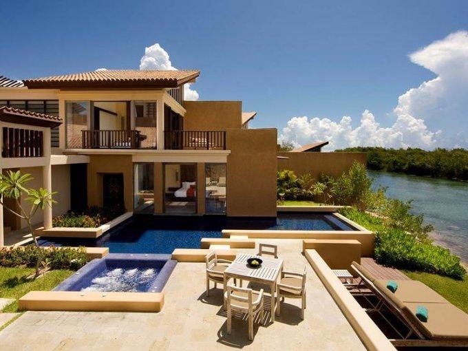 7. Banyan Tree Mayakoba, Riviera Maya, México: el único hotel de nuestro país en la lista, se encuentra entre manglares, lagunas, arrecifes de coral y las aguas cristalinas de la Riviera Maya.