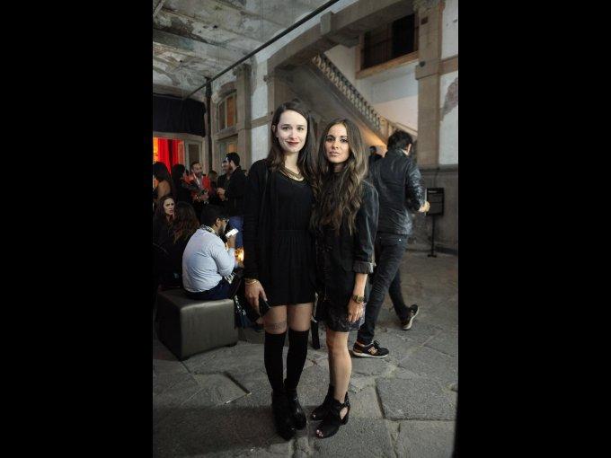 Lorenza Esquinca y Ximena Aceves