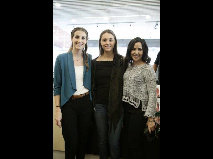 Beatriz Alesanco, Francesca Ingenito y Daniela Briones