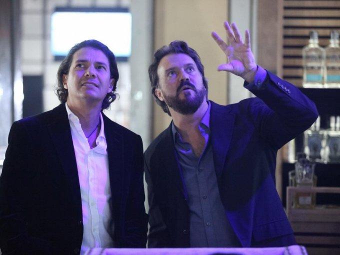 Felipe Ramos y Enrique Gavica