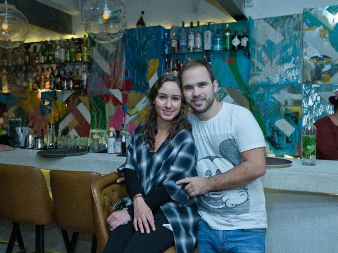 Mariana Morales y Manuel González
