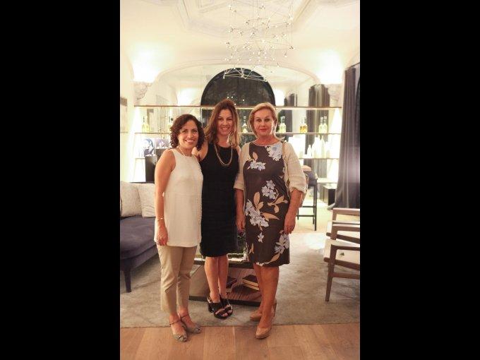 Ofelia Uribe, Erica Krayer y Guadalupe Ramos Cárdenas