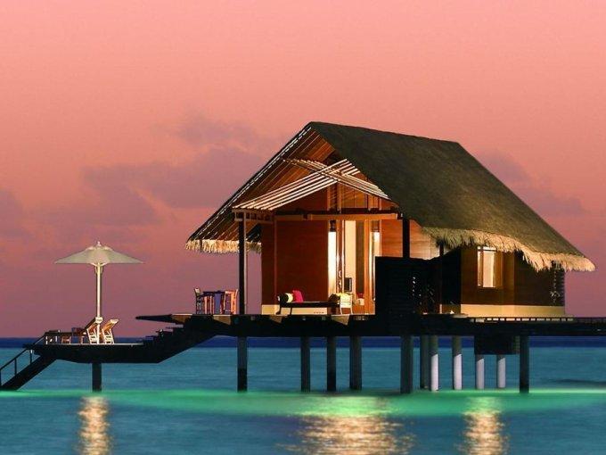5. One&Only Reethi Rah, Islas Maldivas: ¿quién quiere una alberca privada cuando puede tener una laguna privada en un mar traslúcido?