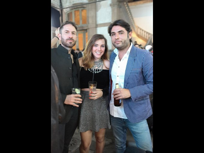 Dan Wye, Ana Celis y Sergio Celis