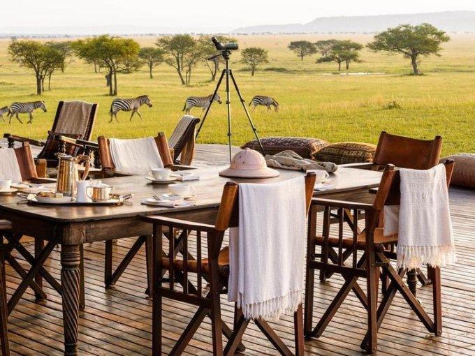 3. Singita Grumeti, Tanzania: este lugar se encuentra en el Parque Nacional del Serengueti, es sustentable y favorece el turismo de bajo impacto.