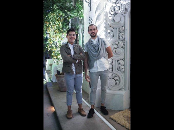 Mauricio Álvarez y Juan José Nemer