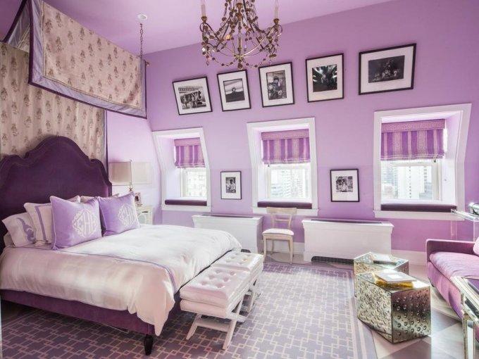 Una de las habitaciones, podría ser el sueño de cualquier chica adolescente.
