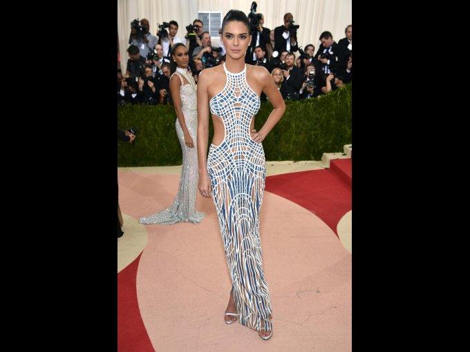 Kendall Jenner en Versace