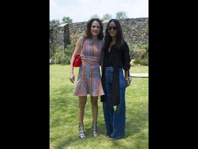 Raquel Juan Marcos y Pamela Ocampo