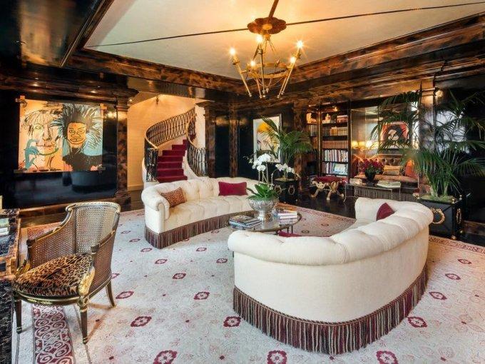 ¿Te imaginas recibiendo a tus invitados en esta habitación?