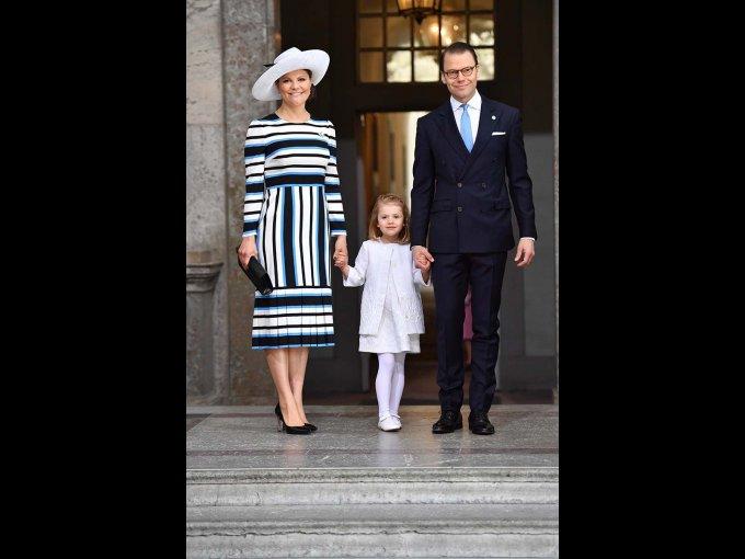 Victoria de Suecia y su esposo Daniel