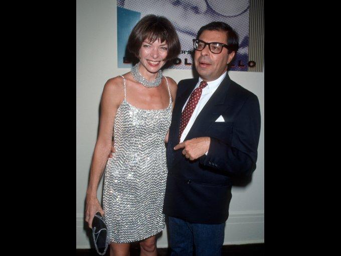 Anna Wintour y Bob Colacello, 1990