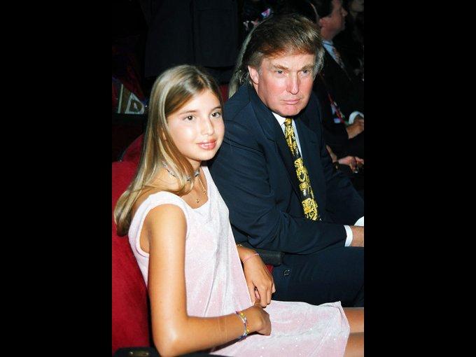Ivanka Trump y Donald Trump