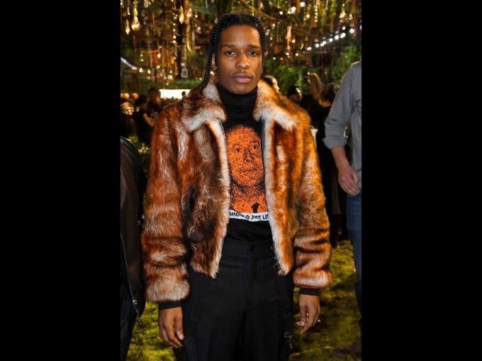 A$AP Rocky en Dior