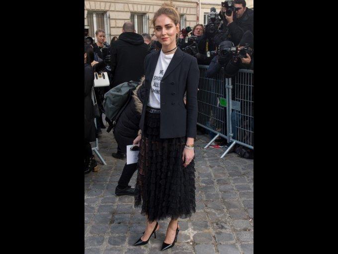 Chiara Ferragni en Dior