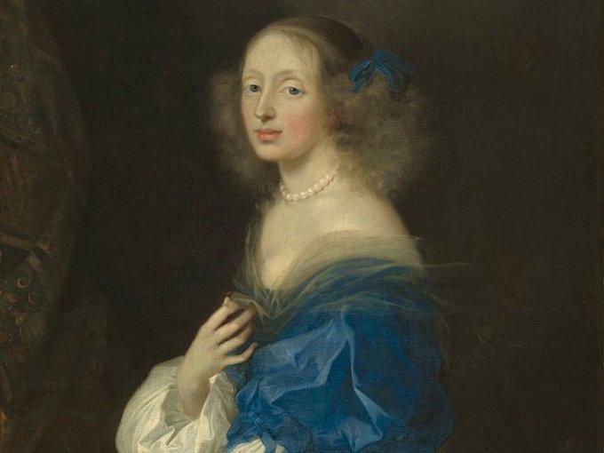 Christina fue nombrada reina a los 6 años cuando su padre murió, y tomó el puesto  oficialmente a los 18.