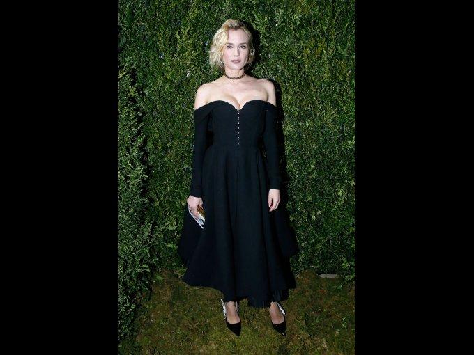 Diane Kruger en Dior, París