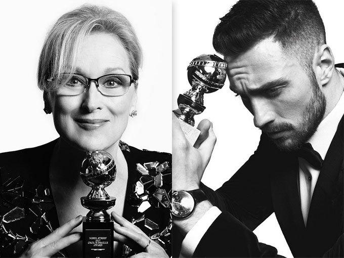 El dúo conformado por los fotógrafos Mert Alas y Marcus Piggott, mejor conocido como Mert & Marcus, creó fabulosos retratos de los ganadores al Golden Globe 2017, los que ya se pueden ver en la cuenta de Instagram de uno de los realizadores.